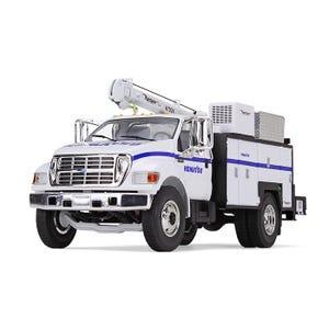 Komatsu Service Truck