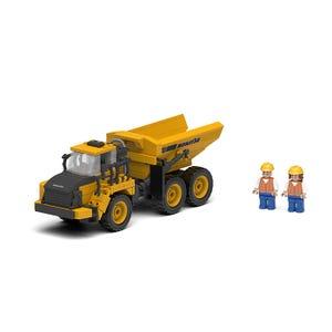 Komatsu Dump Truck Block Set